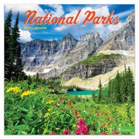 "2019 National Parks 12"" x 12"" January 2019-December 2019 Wall Calendar"