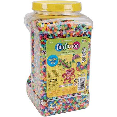 Perler Fuse Beads Fun Fusion Multi-Mix, 22,000 - Beads Galore