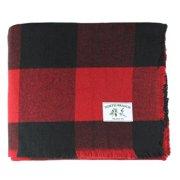 256fe4f350 Melange Home Buffalo Plaid Wool Blanket