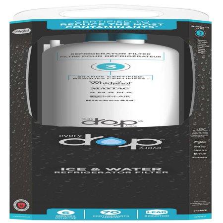 EveryDrop Refrigerator Water Filter 3 EDR3RXD1 - Walmart.com