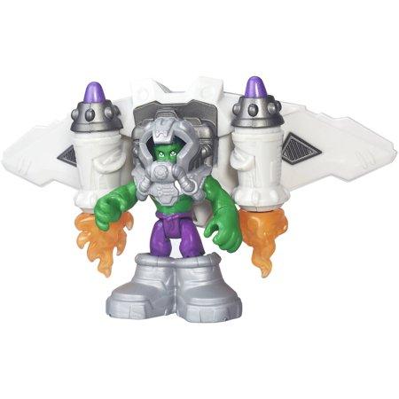 Playskool Heroes Super Hero Adventures Astro Hulk](Kid Hulk Transformation)
