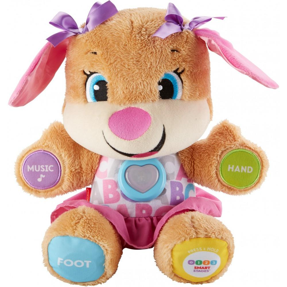 Fisher-Price Laugh \u0026 Learn Smart Stages Sis with 75+ Songs Sounds 0-3 Months Baby Toys