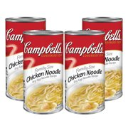(3 Pack) Campbell's Condensed Family Size Chicken Noodle Soup, 22.4 oz. Can