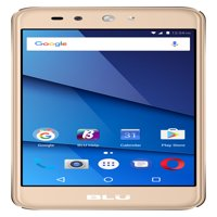 BLU Grand X LTE G0010WW Unlocked GSM Dual-SIM Phone w/ 8MP Camera - Gold