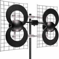 "Antennas Direct C4-CJM ClearStream 4 Extreme Range UHF Outdoor Antenna with 20"" Mount"