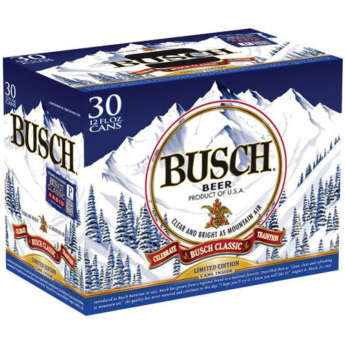 Busch Beer, 30 pack, 12 fl oz