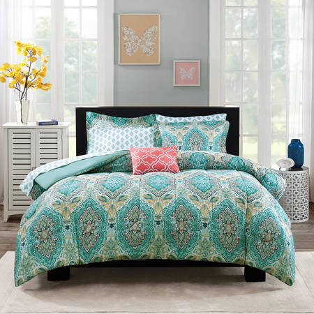 Mainstays Monique Paisley Bed in a (Modern Paisley Comforter)