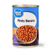 (2 Pack) Great Value Pinto Beans, 15.5 oz, 4 Count