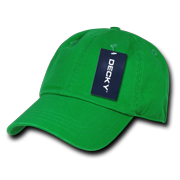 cb8c7eeafca DECKY Polo Vintage Washed Look Cotton Hat Hats Cap Caps For Men Women Kelly  Green
