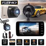 "Best Car Camcorders - Dual Lens Dash Cam 4"" Car Vehicle Camera Review"