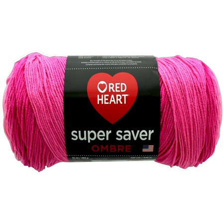 Red Heart Super Saver Ombre Jazzy Yarn, 482 Yd.](Red Heart With Eyes)