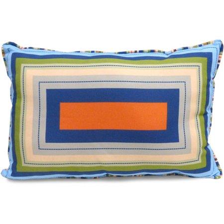 Mainstays Kids' Decorative Pillow, Oblong Squares](Kid Pillows)