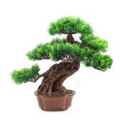 Anese Bonsai Tree Fake Potted Plants House For Bathroom Home Kitchen Office Bookshelf Garden Feng