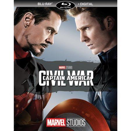 Captain America: Civil War (Blu-ray + Digital) ()