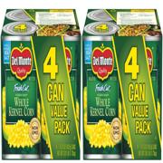 (8 Cans) Del Monte Fresh Cut Golden Sweet Whole Kernel Corn, 15.25 oz