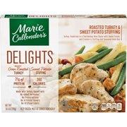 Marie Callender's Delights Frozen Dinner, Turkey & Sweet Potato Stuffing, 10.5 Ounce