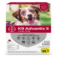 K9 Advantix II Flea and Tick Treatment for Large Dogs