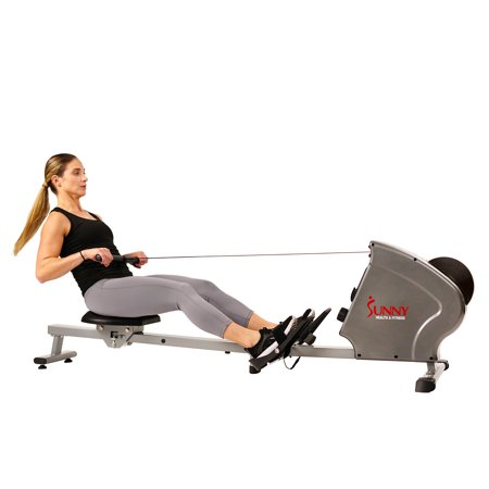 Sunny Health Amp Fitness Magnetic Rowing Machine Rower 11lb