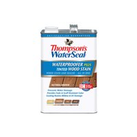 Thompson's WaterSeal Waterproofer Plus Tinted Wood Stain, Nutmeg Brown, 1-Gal