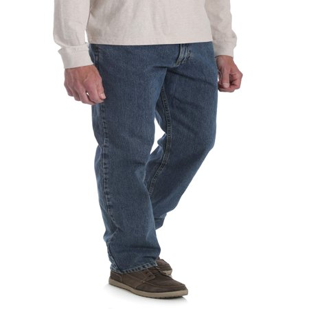 Hugger Fit Denim - Wrangler Men's Relaxed Fit Jeans