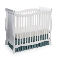 Delta Children Brookside 4-in-1 Convertible Crib, White
