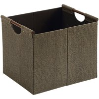 Better Homes and Gardens® Woven Storage Bin, Brown, Durable Construction