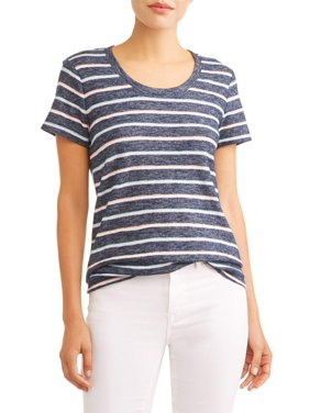 Product Image Women s Short Sleeve Striped T-Shirt 70fe2a547a