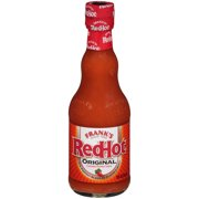 Frank's RedHot Original Cayenne Pepper Hot Sauce (Hot Wing Sauce), 12 oz