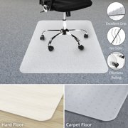 Office Chair Mat For Carpet Floor Opaque Bpa Phthalate And