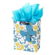 Hallmark Medium Gift Bag With Tissue Paper Flowers And Butterflies