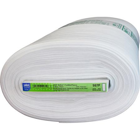 Pellon Fusible Fleece, White, 45