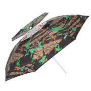 0992081441e0c AMONIDA Sturdy Durable Oxford Cloth   Stainless Steel Outdoor Fishing  Umbrella with Apron Cloth