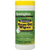 """REMINGTON ACCESSORIES REM OIL POP UP WIPES GUN CLEANING WIPES 7""""X8"""""""