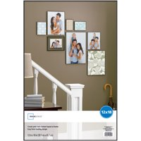"""Mainstays 12"""" x 18"""" Format Picture Frame, Black Finish"""
