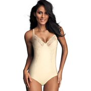 15562e01ca22c Flexees Womens Shapewear Body Briefer with Lace