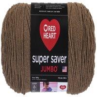 Red Heart Super Saver Acrylic Café Latte Yarn, 1 Each
