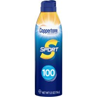 Coppertone Sport Sunscreen Continuous Spray SPF 100, 5.5 oz