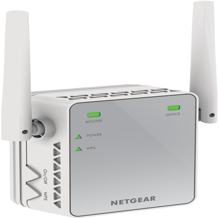 Long Range Wifi Access Point - NETGEAR N300 WiFi Range Extender (EX2700-100PAS)