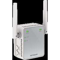 NETGEAR N300 WiFi Range Extender, Wall-Plug (EX2700)