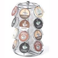 24 Capacity Coffee Pod Carousel in Chrome
