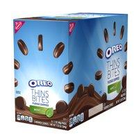 Oreo Thins Bites Fudge Dipped Mint Creme, 13.6 Oz