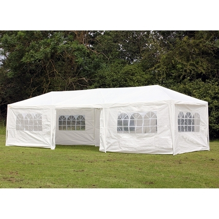 PALM SPRINGS 10' x 30' Party Tent Wedding Canopy Gazebo Pavilion w/Side Walls ()