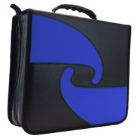 Premium Cloth 456 Compact Disc CD DVD Blu-Ray Media Wallet Folder Carrying Case , Assorted Colors 400 420 440 ( 1 Item Only )