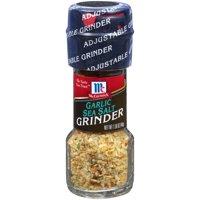 (2 Pack) McCormick Garlic Sea Salt Grinder, 1.58 oz
