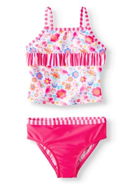Floral Tankini with Ruffles (Toddler Girls)