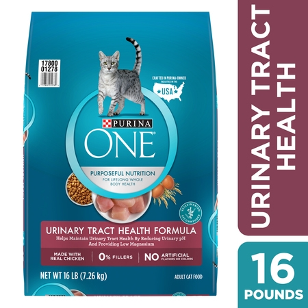 Purina One Urinary Tract Health Dry Cat Food, 16 (Best Food To Feed Your Cat)
