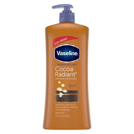 Vaseline Intensive Care Cocoa Radiant Body Lotion, 32 (Best All Over Body Lotion)