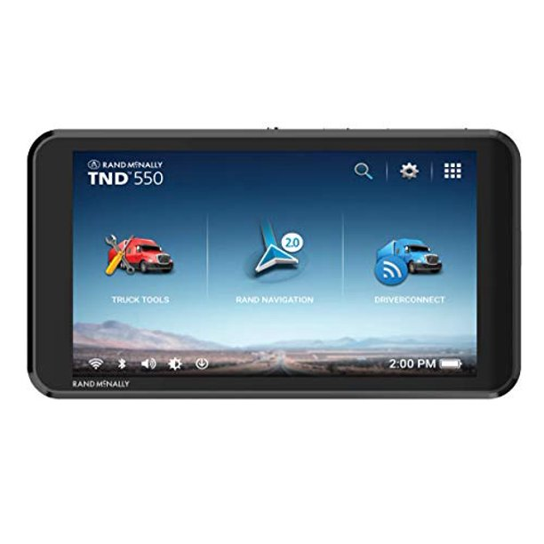 Rand McNally TND 550 5-Inch GPS Truck Navigator
