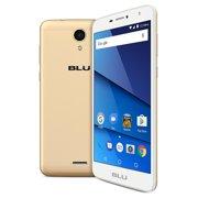 BLU Studio Mega S610P Unlocked GSM Dual-SIM Android Phone w/ 8MP Camera - Gold
