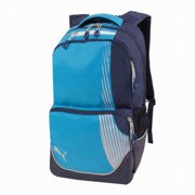 aa0cc6ec50 Rapide Blue   Gray Backpack with Padded Laptop Sleeve Sport School Travel
